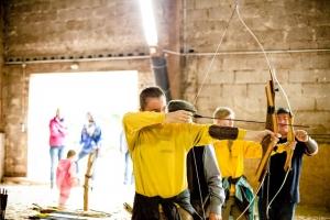 Neue Abteilung gegründet: Bogenschießen, Bogenreiter