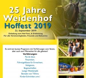 Einladung zum Hoffest/                Erlebnistag