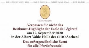 Die »Welt der Légèreté« in der Albert-Vahle-Halle des CHIO Aachen!
